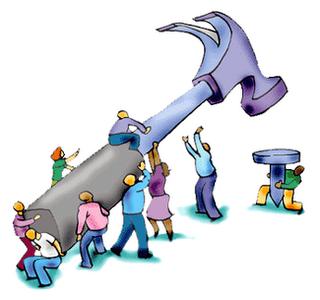 Frivilligt arbejde til Lyne Byforskønnelse