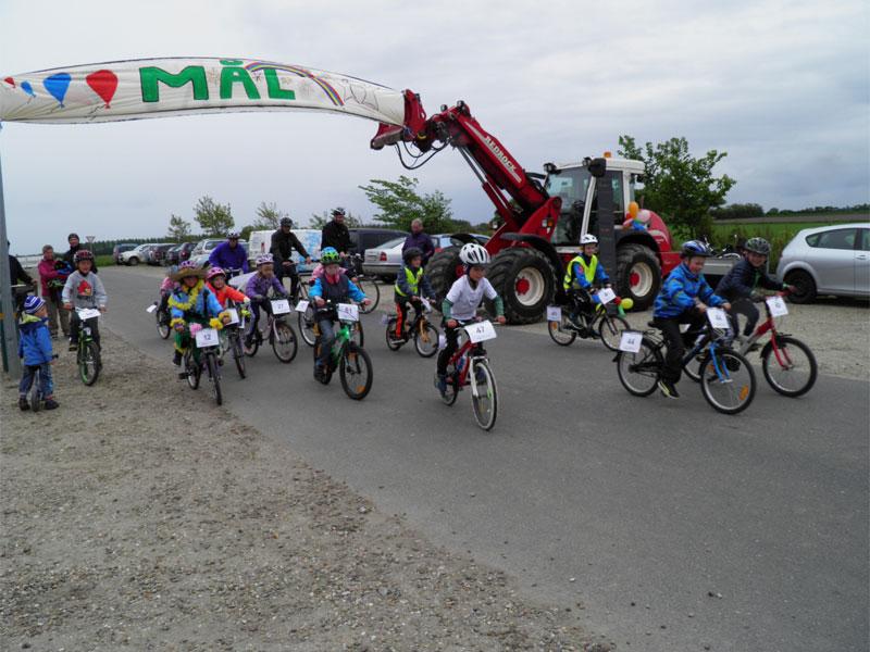 Billeder fra sponsorløbet