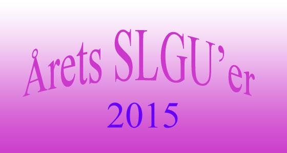Årets SLGU'er 2015