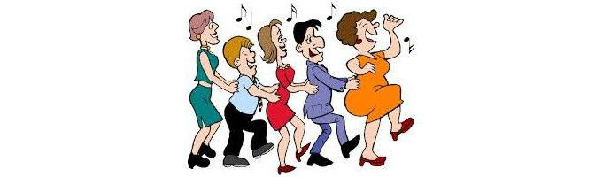 Danseaften i Lyne Forsamlingshus