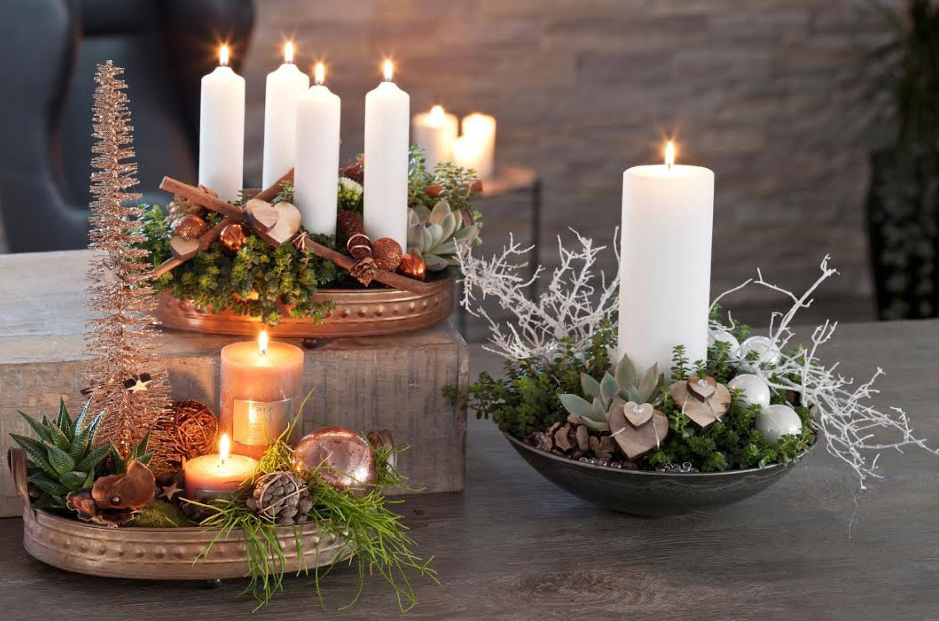 Advent & Jule dekorationer