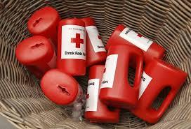Røde Kors indsamlingen i Lyne