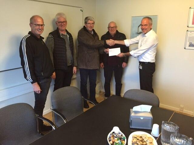 Donation fra Medarbejderfond for VKR Gruppen