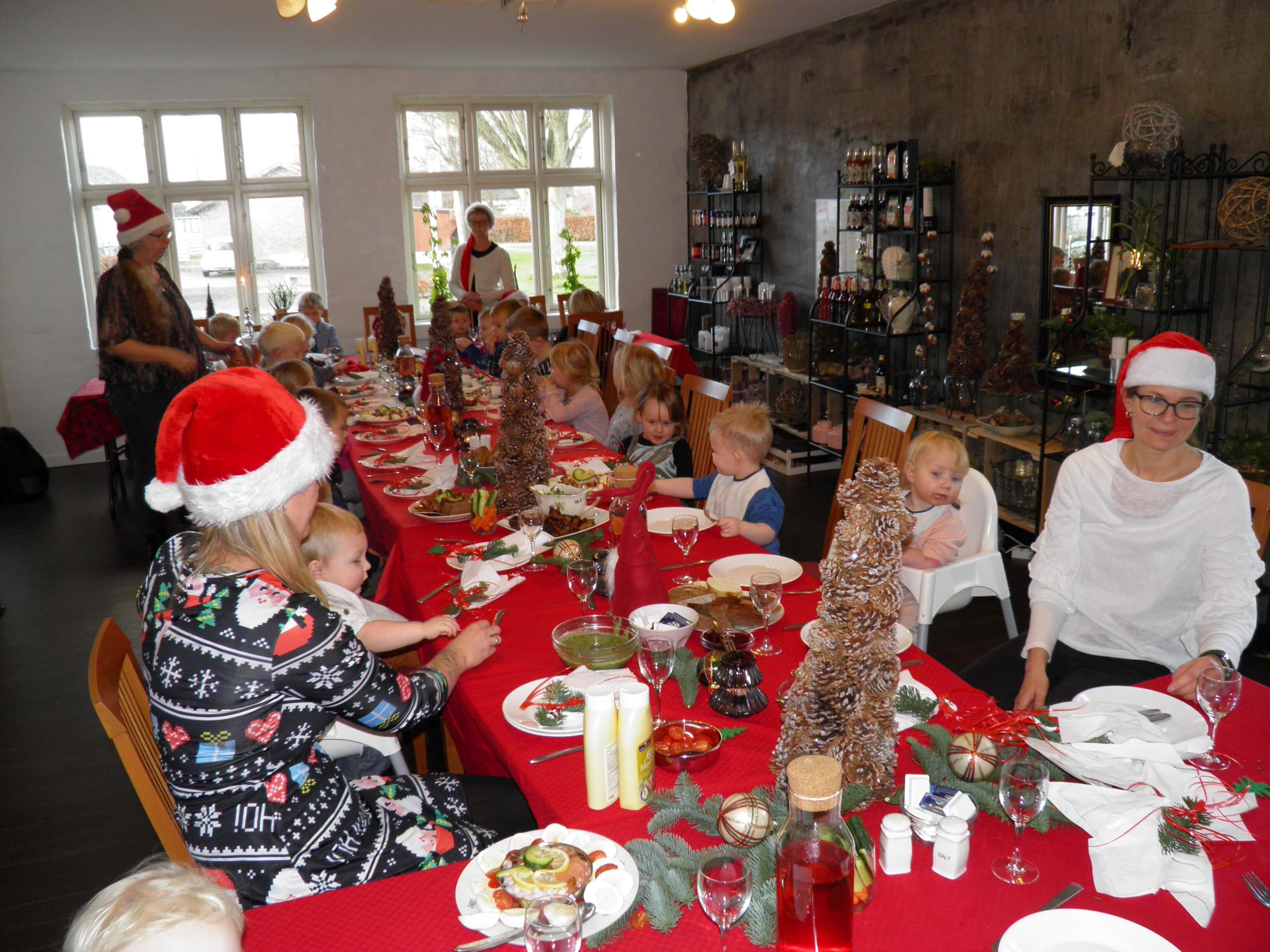 Børnebo til julefrokost