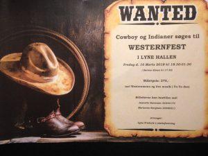 Westernfest @ Lyne Hallen