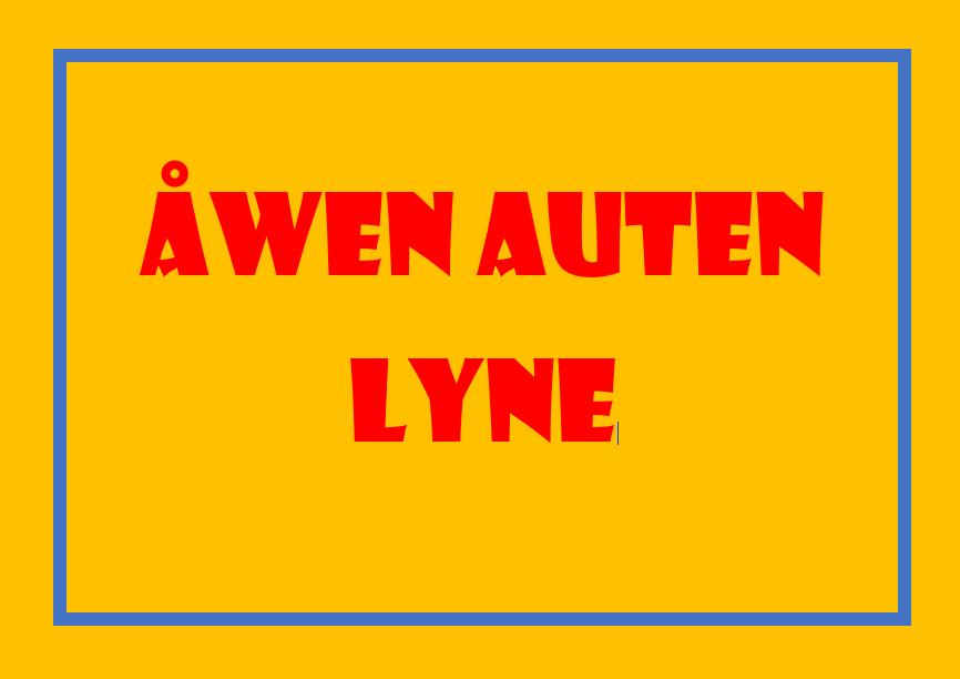 Åwen Auten i Lyne