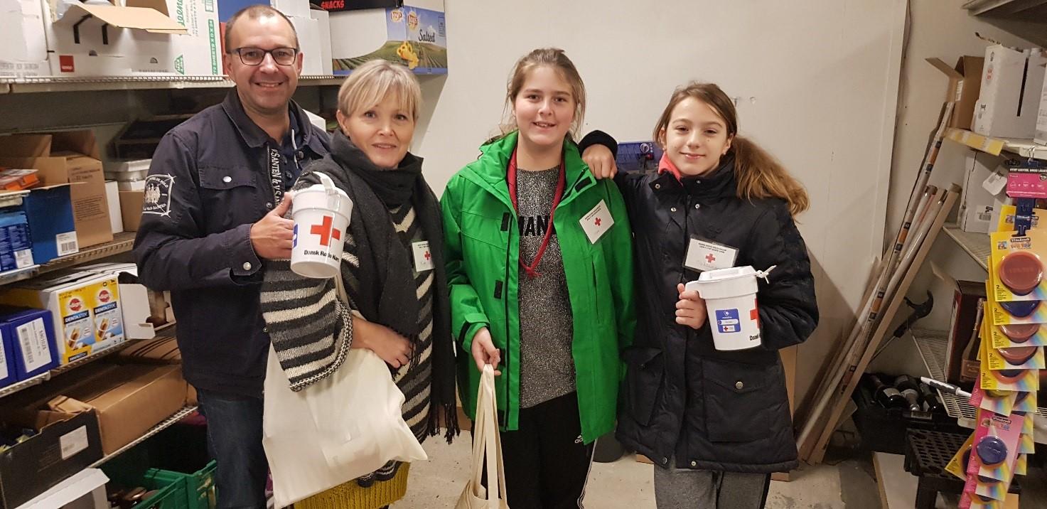 Indsamling til Røde Kors i Lyne