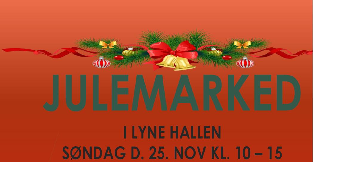 Julemarked i Lyne Hallen